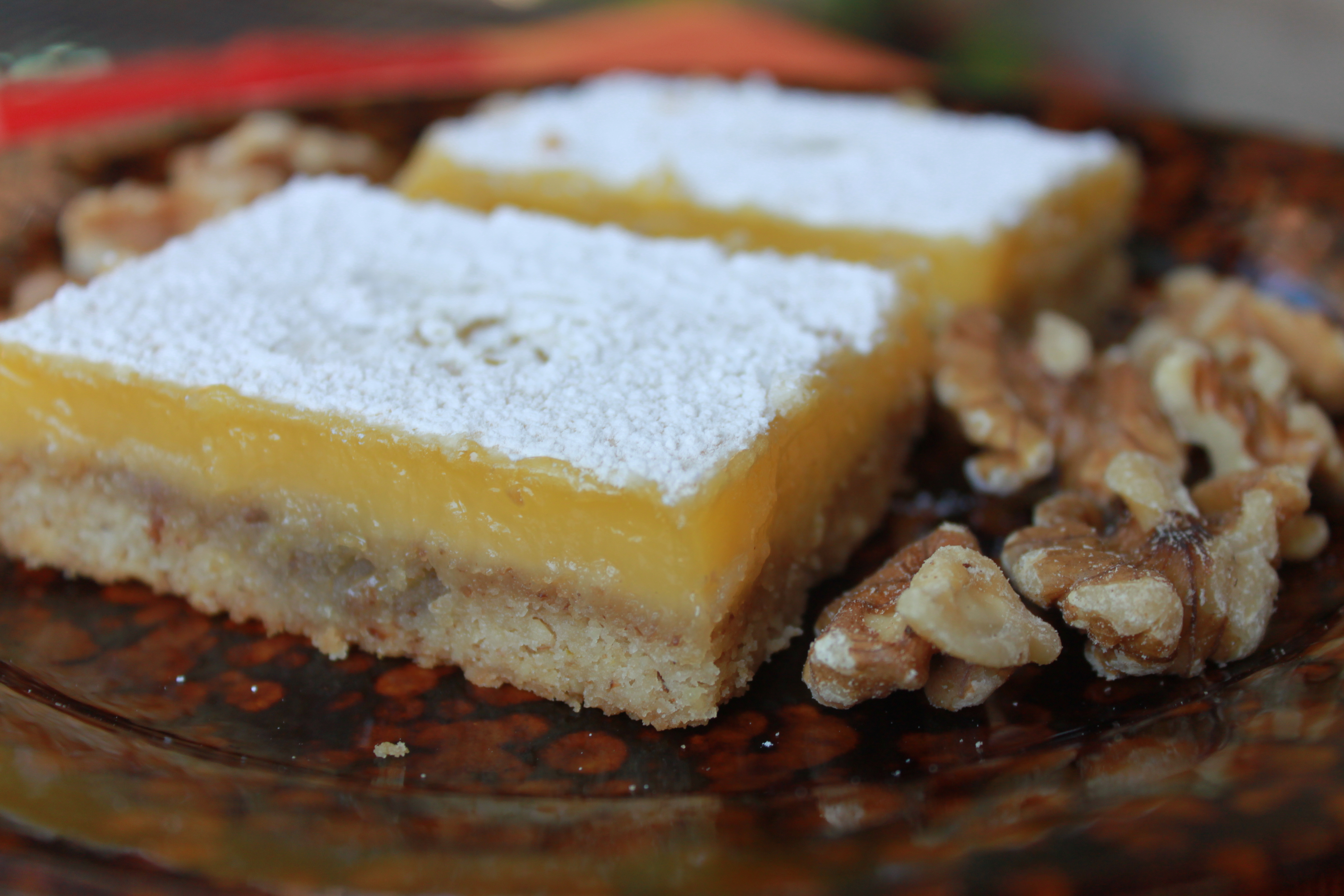 Lime Bars with Walnut Shortbread | cravingsweets